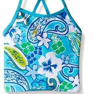 Kanu Surf Girls 2pc Tankini Swimsuit Bathing Suit